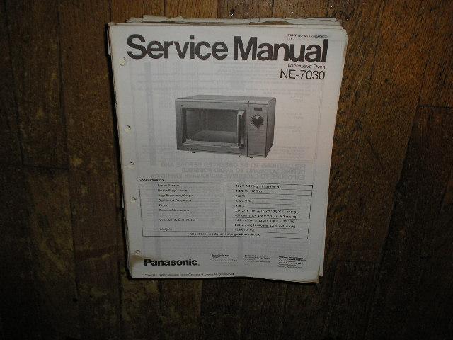 NE-7030 Microwave Oven Service Repair Manual