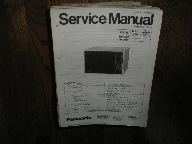 NN-3659 NN-3959 Microwave Oven Service Repair Manual