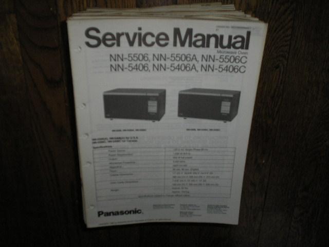 NN-5406 NN-5406A NN-5406C NN-5506 NN-5506A NN-5506C Microwave Oven Service Repair Manual