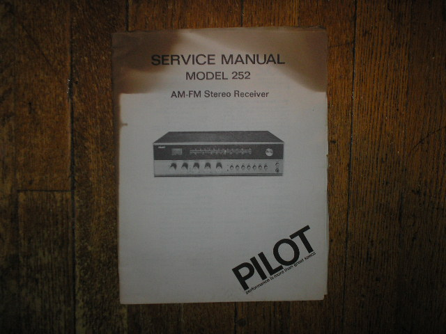252 Receiver Service Manual