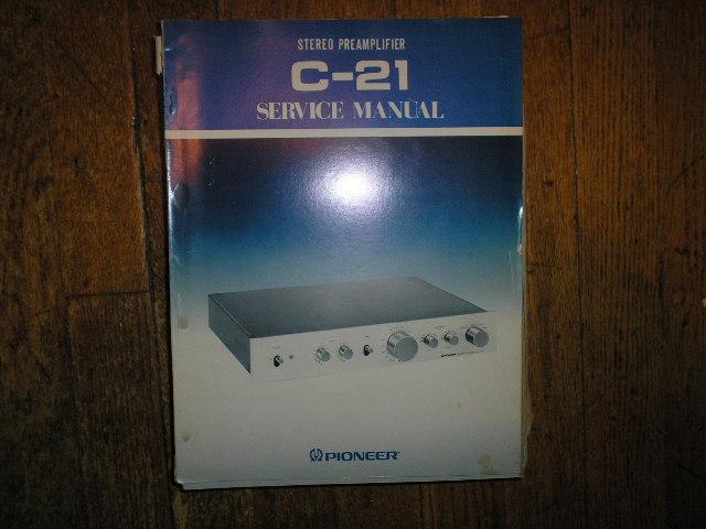 C-21 Stereo Pre-Amplifier Service Manual