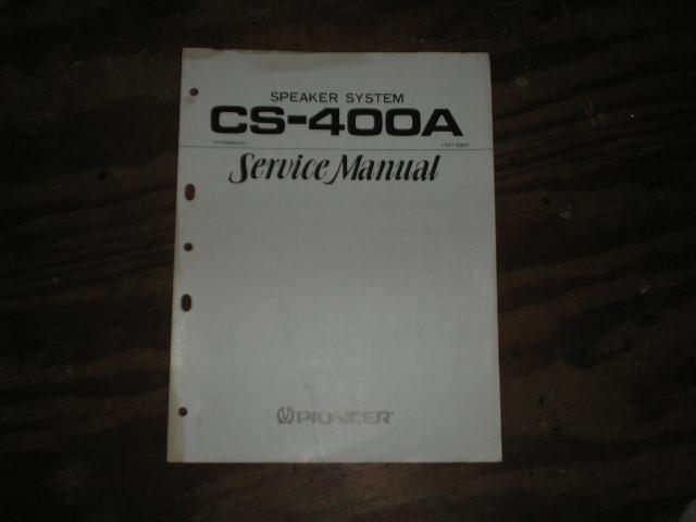 CS-400A ART-238 Speaker System  Service Manual