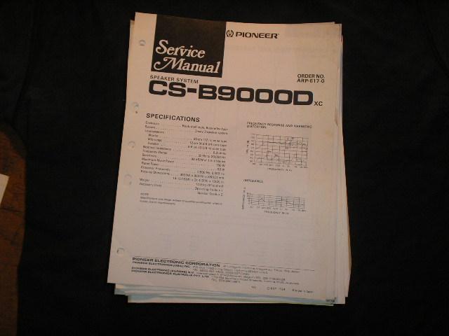 CS-B90000D Speaker System Service Manual ARP-617