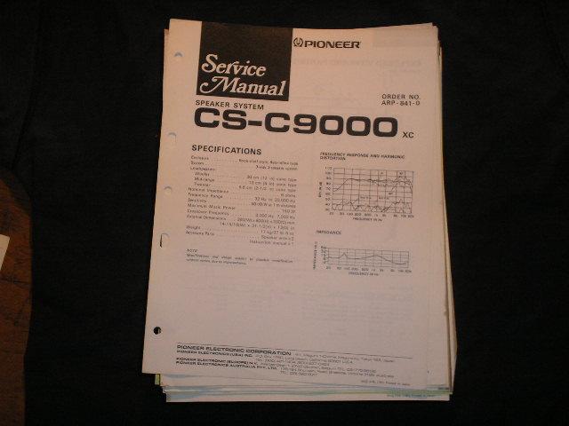 CS-C9000 Speaker System Service Manual ARP-841