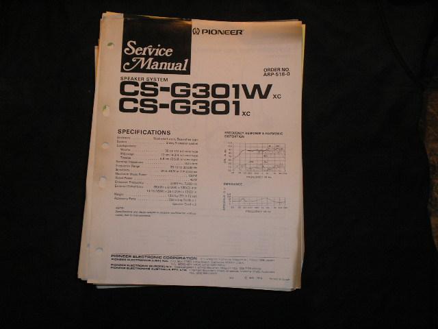 CS-G0301W CS-G301 2 Speaker System Service Manual ARP-518