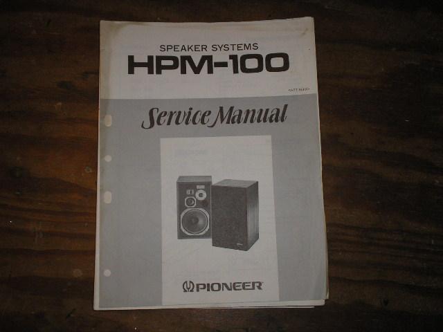 HPM-100 Speaker System Service Manual ART-168