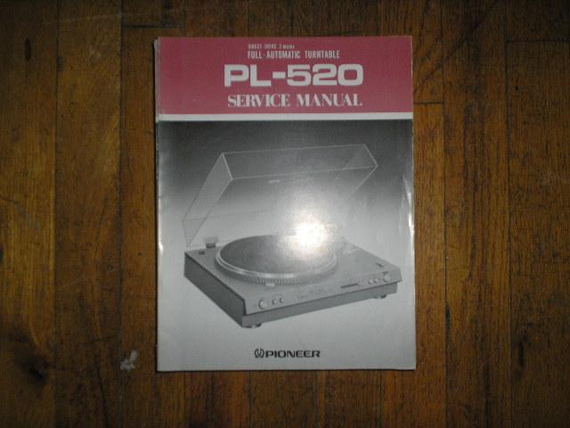 PL-520 Turntable Service Manual  ART-259-0
