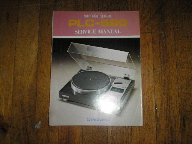 PLC-590 Turntable Service Manual  ART-223-0