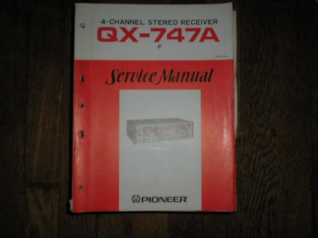 QX-747A Receiver Service Manual     ART-141