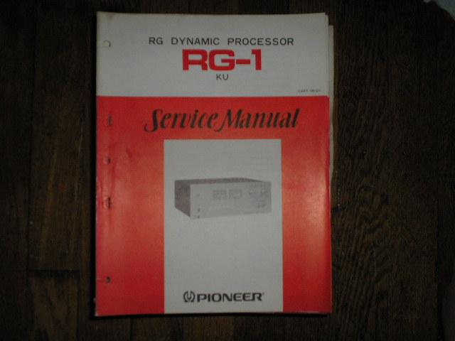 RG-1 RG Dynamic Processor Service Manual     ART-145