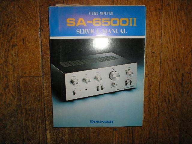 SA-6500 II Stereo Amplifier Blue Service Manual