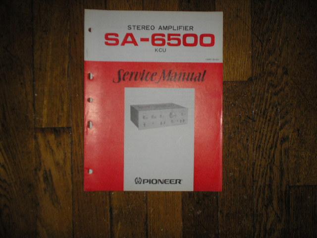 SA-6500 Amplifier Service Manual     ART-151