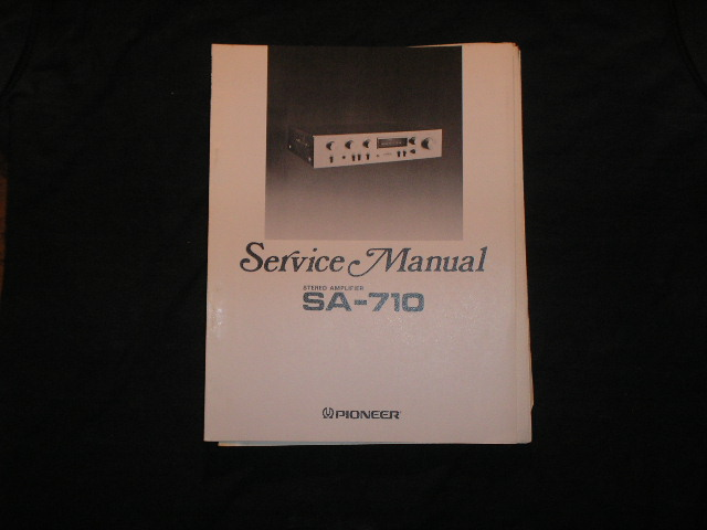 SA-710 Amplifier Service Manual