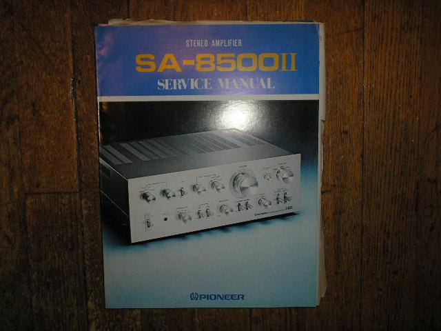 SA-8500 II Stereo Amplifier Service Manual