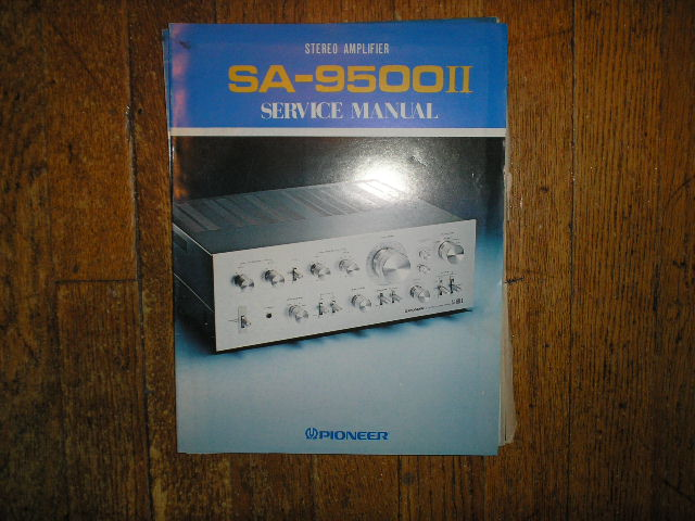 SA-9500 II Amplifier Blue Service Manual
