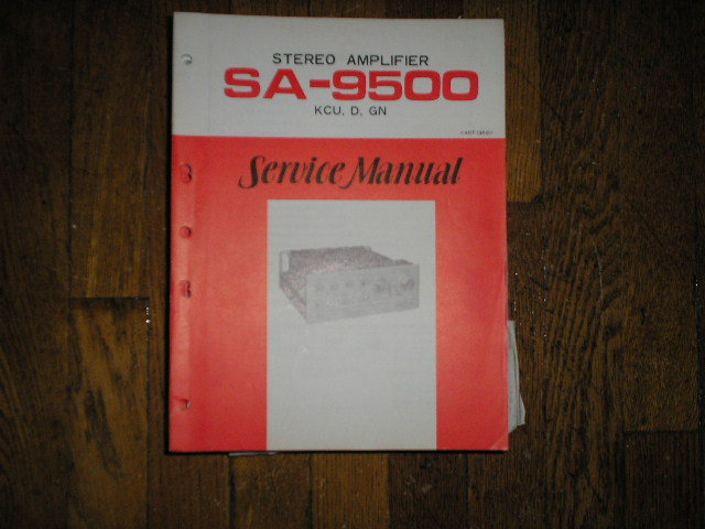 SA-9500 Amplifier Service Manual     ART-124