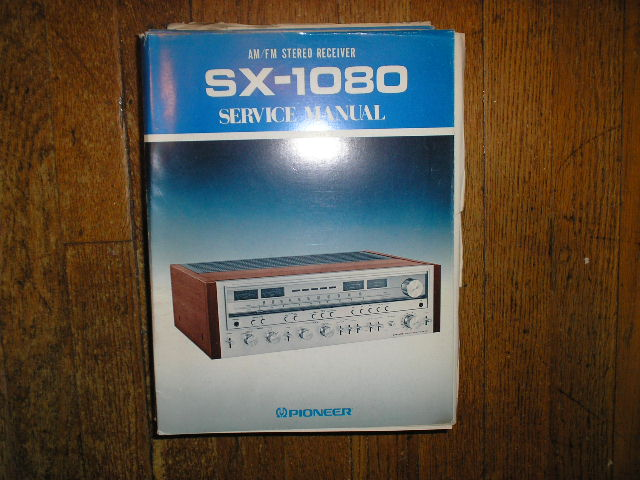 SX-1080 KU Stereo Receiver Service Manual