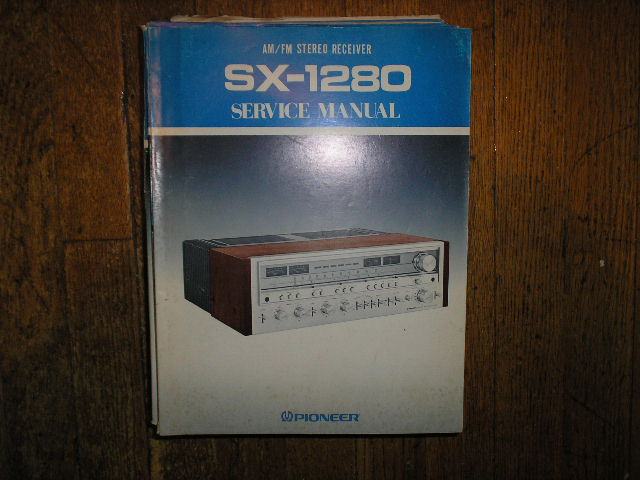 SX-1280 KU KC S S/G Stereo Receiver Service Manual