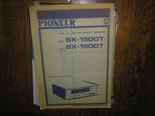 SX-1500T SX-1500T F Receiver Service Manual