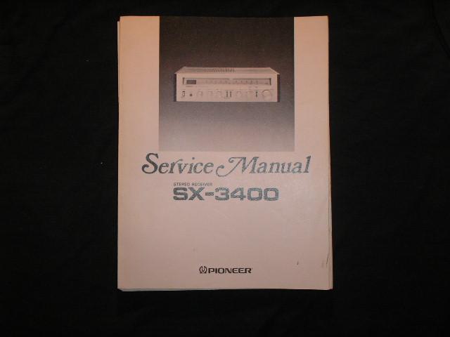 SX-3400 Receiver Service Manual