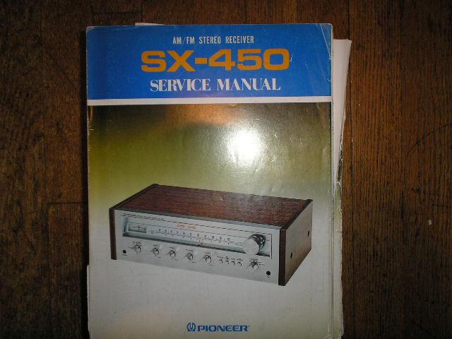SX-450 S HG KU KC Stereo Receiver Service Manual