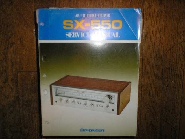 SX-550 HG S Stereo Receiver Service Manual