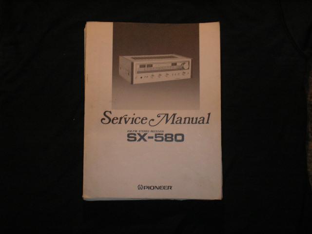 SX-580 Receiver Service Manual
