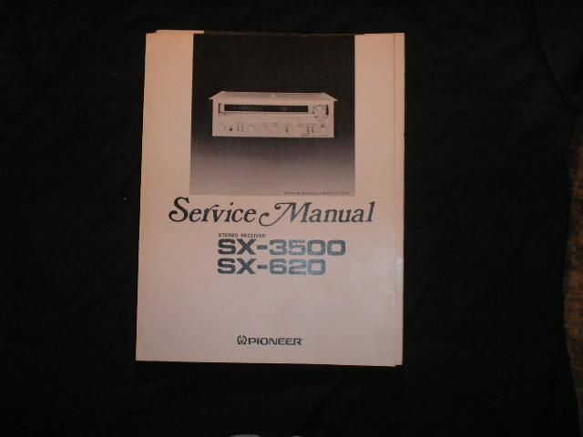 SX-620 SX-3500 Receiver Service Manual