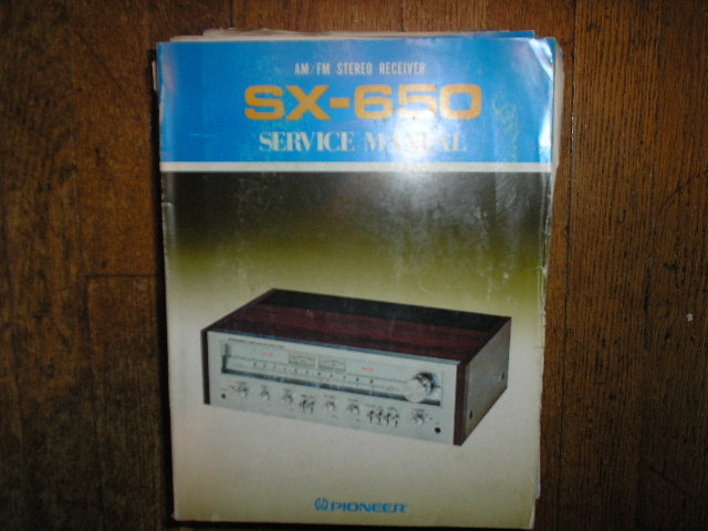 SX-650 HG KU KC Stereo Receiver Service Manual