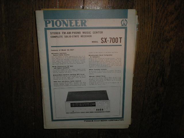 SX-700T Receiver Service Manual