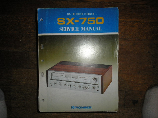 SX-750 KU KC Stereo Receiver Service Manual