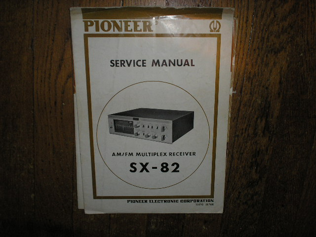 SX-82 Stereo Receiver Service Manual