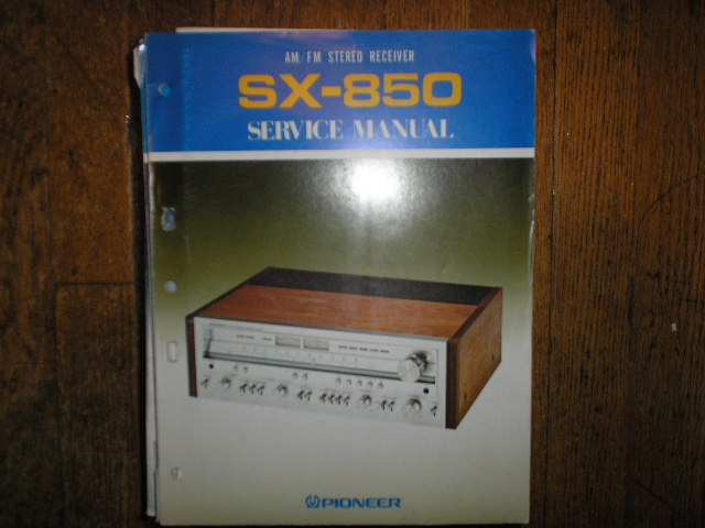 SX-850 HG S KU KC Stereo Receiver Service Manual