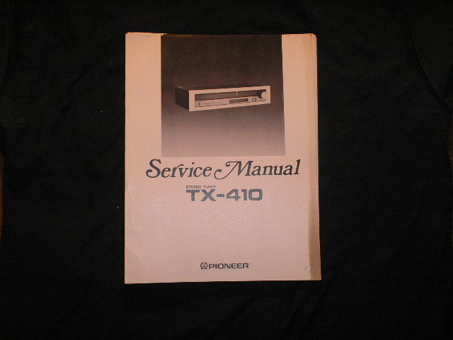 TX-410 Tuner Service Manual