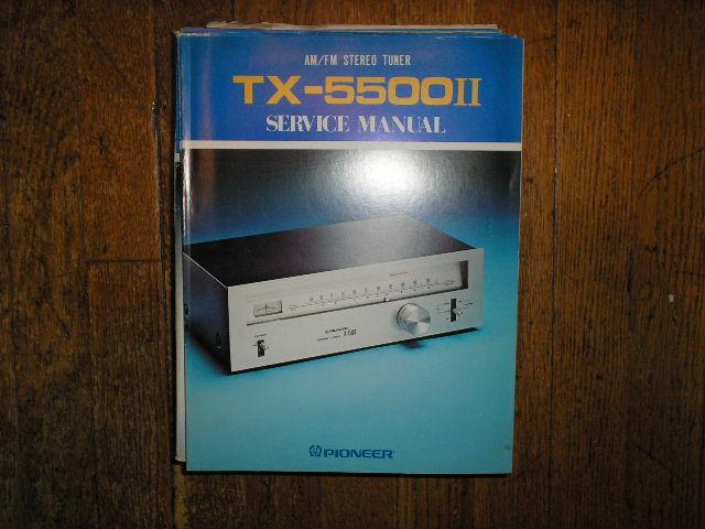 TX-5500 II KU KC S HG Tuner Service Manual