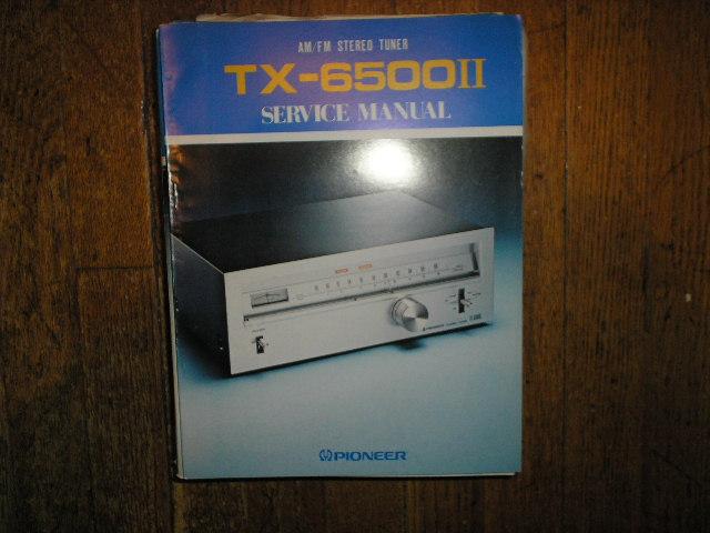 TX-6500 II KU KC S HG Tuner Service Manual