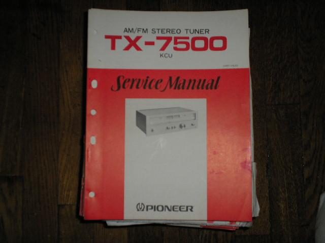 TX-7500 AM/FM Tuner Service Manual ART-115