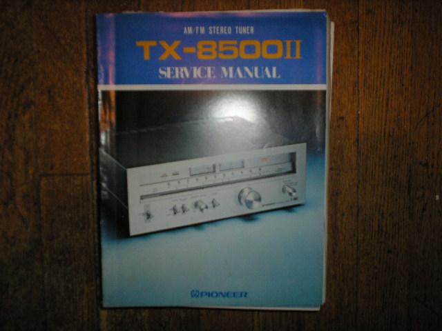 TX-8500 II KC KU HG S Tuner Service Manual