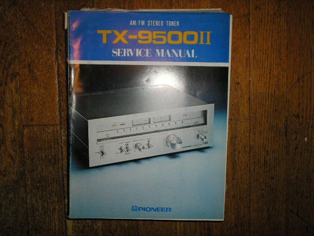 TX-9500 II KC KU HG S Tuner Service Manual