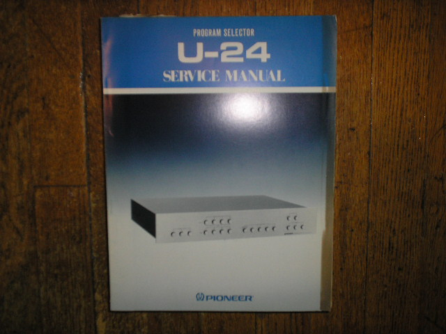 U-24 Program Selector Service Manual