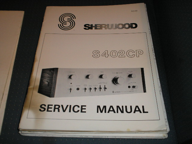 S-402CP Amplifier Service Manual