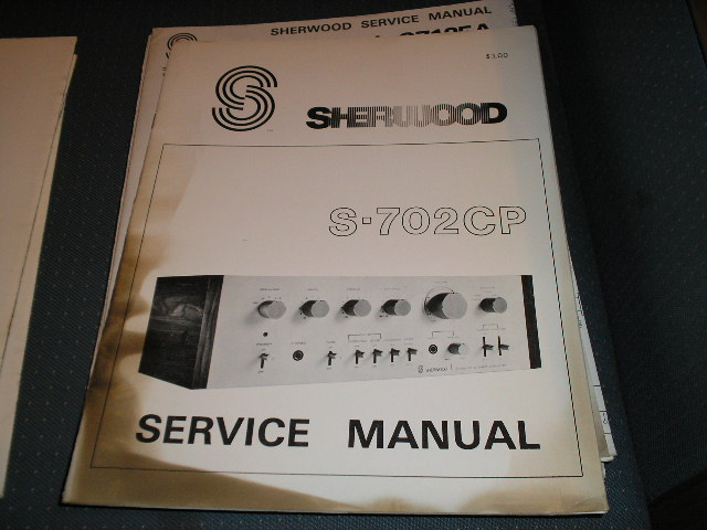 S-702CP Amplifier Service Manual