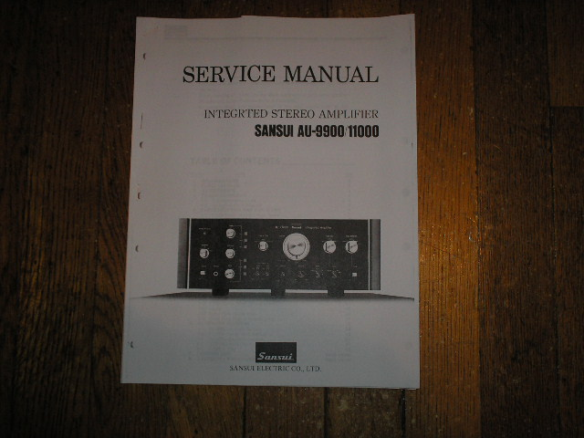 AU-9900 AU-11000 Amplifier Service Manual