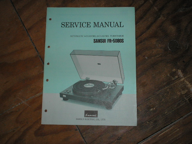 FR-5080S Turntable Service Manual