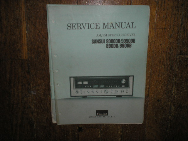 8080DB 9090DB 890DB 990DB Receiver Service Manual