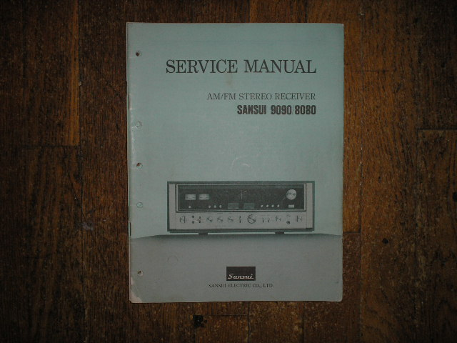 8080 9090DB Receiver Service Manual