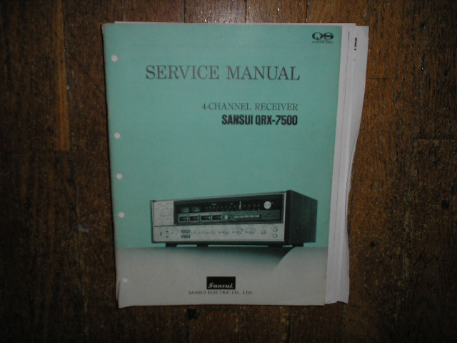 QRX-7500 Receiver Service Manual