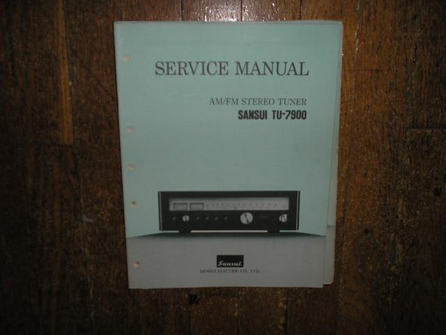 TU-7900 Tuner Service Manual