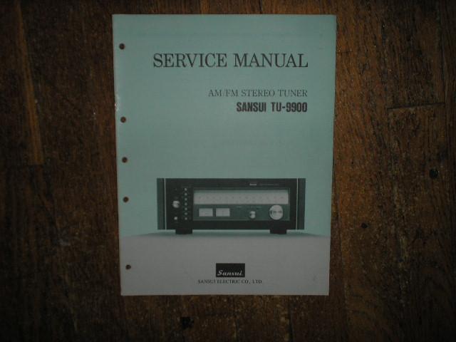TU-9900 Tuner Service Manual