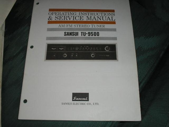 TU-9500 Tuner Service Manual